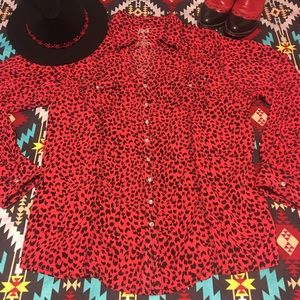🖤♦️Rockin' Animal Print western shirt ♠️♥️